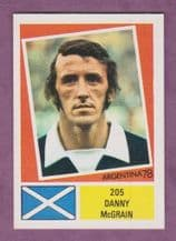 Scotland Danny McGrain Glasgow Celtic 205