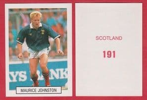 Scotland Maurice Johnston Glasgow Rangers