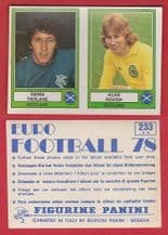 Scotland Parlane Glasgow Rangers & Rough Partick Thistle