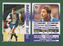 Sheffield Wednesday David Hirst England 87