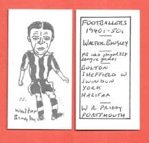 Sheffield Wednesday Walter Bingley 73