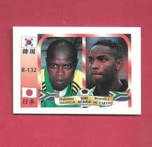 South Africa Phil Masinga & Benni McCarthy 132