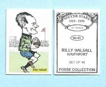 Southport Billy Halsall 43 (FC)