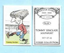Southport Tommy Sinclair 44 (FC)