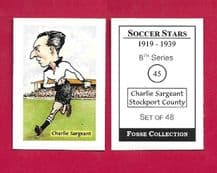 Stockport County Charlie Sargeant 45 (FC)