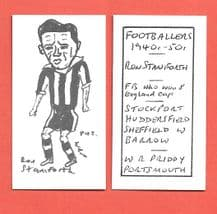 Stockport County Ron Staniforth 842