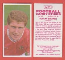 Swindon Town Duncan Shearer 43