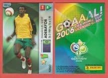 Togo Emmanuel Adebayor Arsenal 143 2006