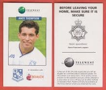Tranmere Rovers Andy Thompson