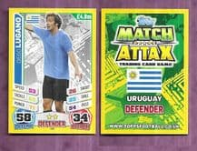 Uruguay Diego Lugano West Bromwich Albion 226 (14AS)