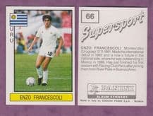 Uruguay Enzo Francescoli Racing Club Paris 66