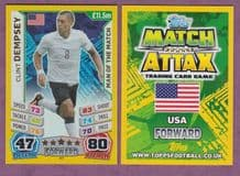 USA Clint Dempsey Fulham Man Of The Match 267