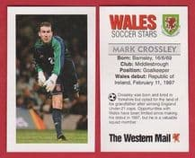 Wales Mark Crossley Middlesbrough