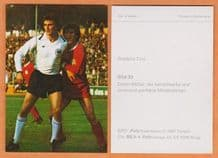 West Germany Dieter Muller Koln 33
