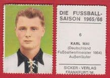 West Germany Karl Mai Spvgg Furth 6