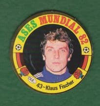 West Germany Klaus Fischer 43