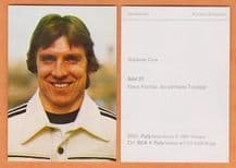 West Germany Klaus Fischer Schalke 04 37