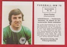 West Germany Klaus Fischer Schalke 04