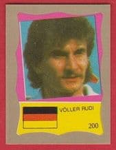 West Germany Rudi Voller 200