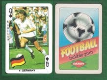 West Germany Rudi Voller Werder Bremen QS