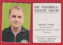 West Germany Toni Turek Fortuna Dusseldorf 1