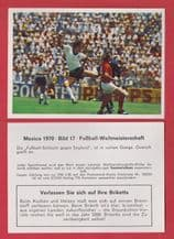 West Germany v England Wolfgang Overath Alan Mullery 17