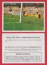 West Germany v Peru Gerd Muller 13