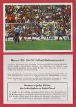 West Germany v Uruguay Berti Vogts Wolfgang Overath 38