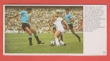 West Germany v Uruguay Held 1970 World Cup