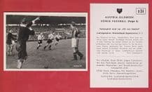 West Germany v Yugoslavia 1952 Morlock Nuremburg Beara Hajduk Split D34