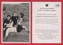 West Germany v Yugoslavia 1952 Morlock Nuremburg D36