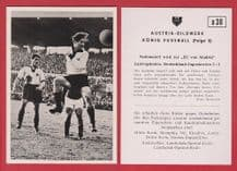 West Germany v Yugoslavia 1952 Rahn Rot Weiss Essen Beara Hajduk Split D30