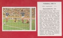 West Germany v Yugoslavia Muller 140
