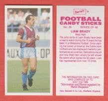 West Ham United Liam Brady 29