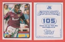 West Ham United Paolo Wanchope 105