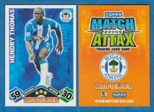 Wigan Athletic Hendry Thomas Honduras