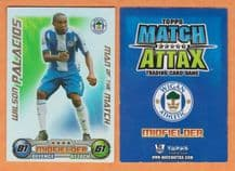 Wigan Athletic Wilson Palacios Honduras Man of the Match