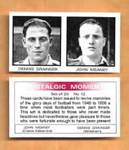 Wrexham Dennis Grainger & Crewe Alexandra John Meaney 12