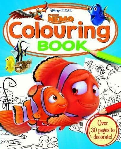 Disney-PIXAR Finding Nemo Colouring Book