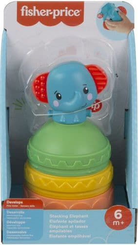 Fisher Price Stacking Cup Elephant