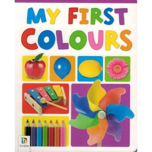 My First Board Book - Colours