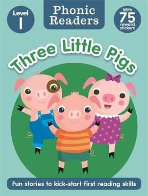 Three Little Pigs Level 1 Phonic Readers Book