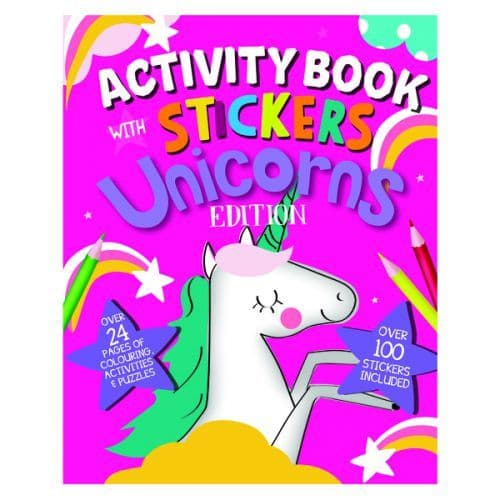 Unicorn Activity Book with Stickers