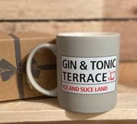 'Gin And Tonic Terrace' Ceramic Mug. Great Gift For Gin Lovers...