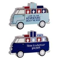'Home Is Wherever You Park It' Camper Van Free Standing Plaque..WAS £4.95