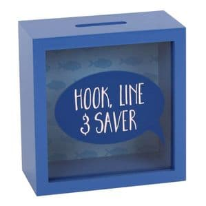 'Hook Line And Saver' Great Money Box For All Our Fishermen Friends...