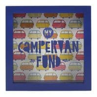 'My Campervan Fund' Money box Great Gift For Camper Van Owners.....