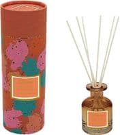 100ml Glass Reed Diffuser 'Pomegrannate And White Peach' In Lovely Gift Box....