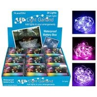 Christmas LED Light Garland Battery Operated Lights......