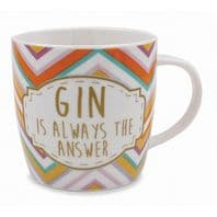 Gin Is Always The Answer Fine China Mug..